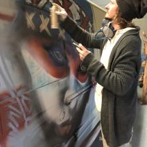 Ronald Spray Art Duikersloot