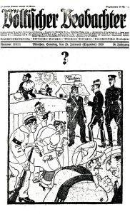 Titelblatt Völkischer Beobachter