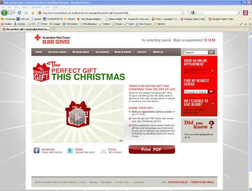 Red Cross - Christmas Campaign