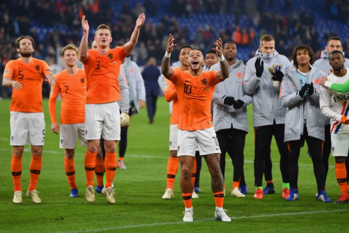 Kết quả hình ảnh cho netherlands football team 2019