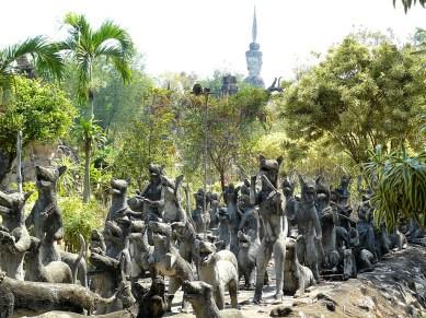 Sculpture park in Nong Khai-1