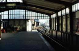 Schlesisches Tor, Metrostation bij Kreuzberg.