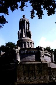Bismarck statue.