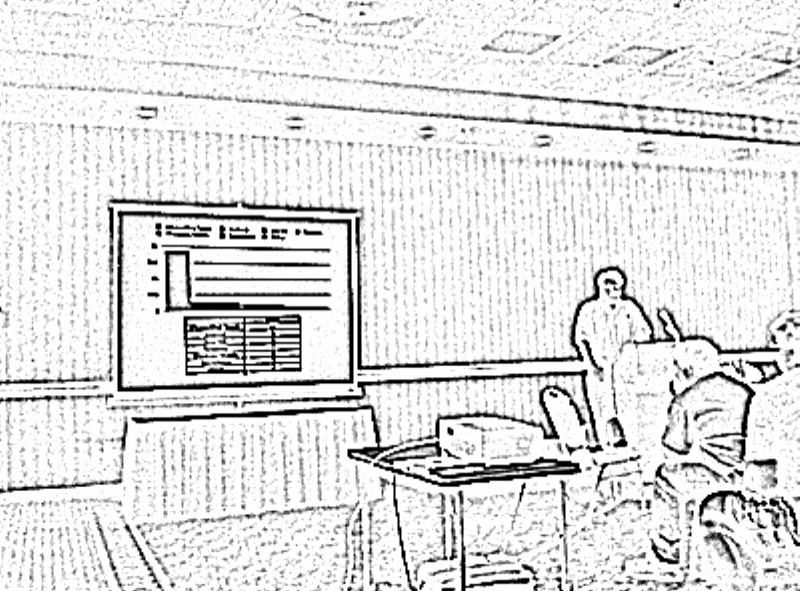 A sketch of Free Software Expo held at Westport Plaza