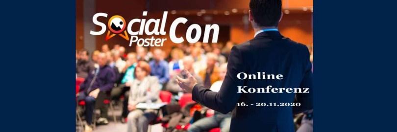 Social Poster Con - anmelden!