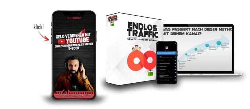 Bei YouTube laufend Traffic abholen - mit einem System von Eric Hüther