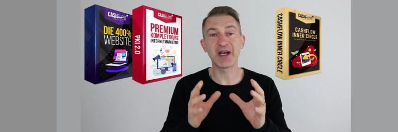 Eric Promm - Mr Cashflow. Sein Komplettkurs besteht aus drei Elementen.