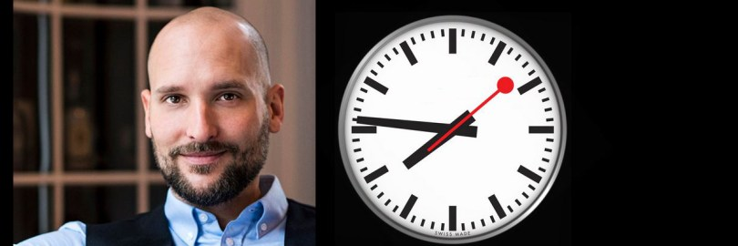 Markus Orschlers Spezialität: Lesen gegen die Zeit