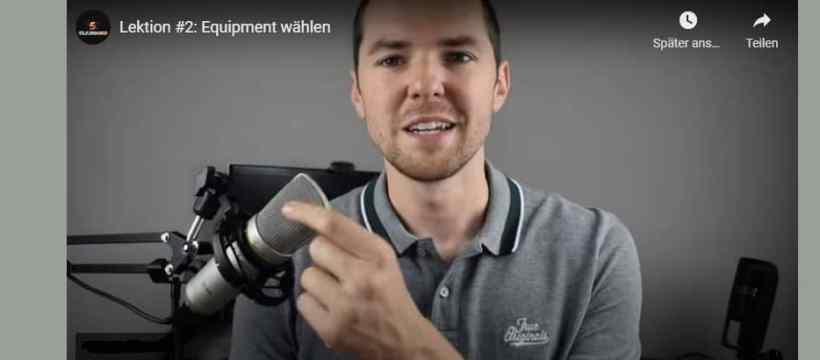 """""""Erfolgreich auf YouTube"""" - ein Gratiskurs von Andreas Pelta"""