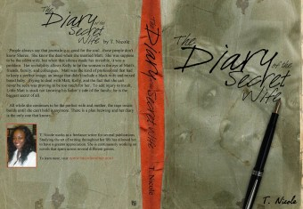 T.NICOLE - DIARY OF SECRET WIFE BOOK COVER