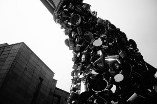 Subodh Gupta sculpture