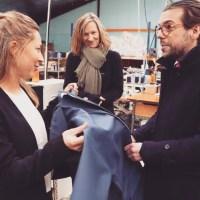 """Rencontre aujourd'hui avec les repreneurs de l'entreprise textile ploemeuroise """"Motonautic"""" qui s'allie avec la guingampaise """"Dolmen"""". Des entrepreneurs qui maintiennent la production de vêtements techniques à Plœmeur et donc le savoir-faire. La qualité et des produits innovants garantissent l'emploi !"""