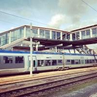 Visite de la nouvelle gare 100 jours avant son inauguration