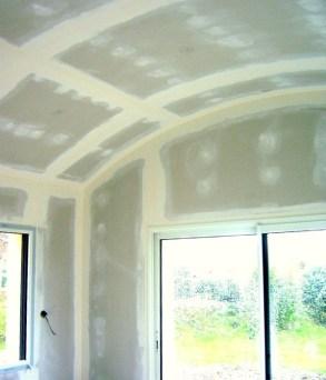 Photo d'un plafond cintré