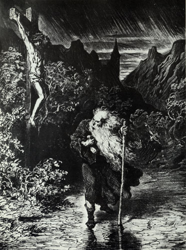 Wandering Jew by Gustave Doré