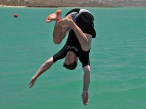 Andrew flying