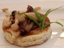Shimezi mushroom dessert