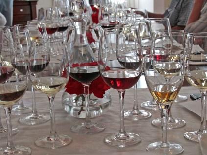 Some glassware