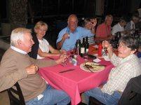 At dinner in Clanwilliam