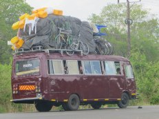 A typical Mozambiquean taxi