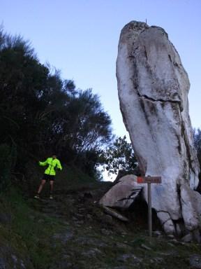Slalom junto à Pedra Alta