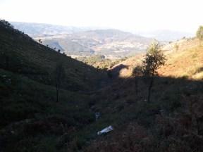 O vale cavado
