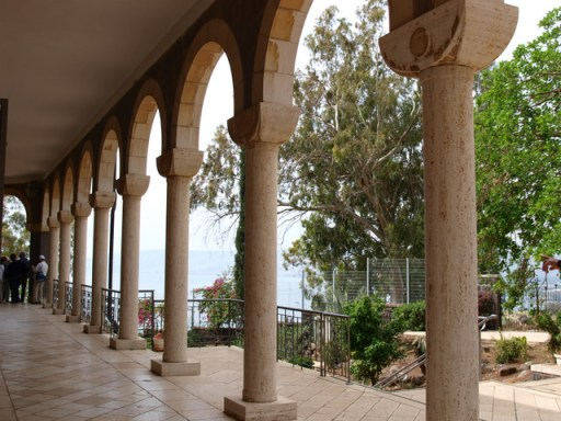 Church of the Beatitudes, Sea of Galilee