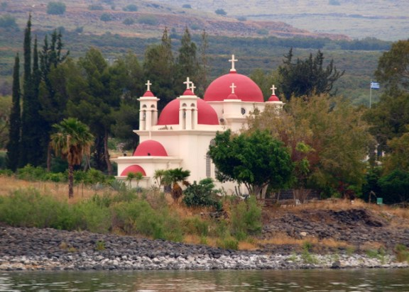 An abandoned Orthodox Church in Galilee