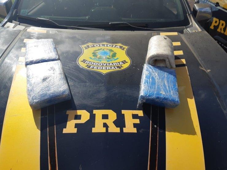 BR-364: Mulher é presa em táxi na capital com seis quilos de drogas vindo do Acre