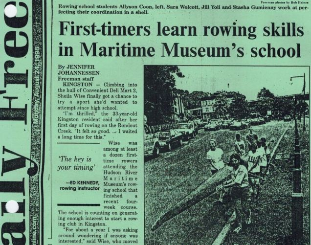 Daily Freeman article dated 1998