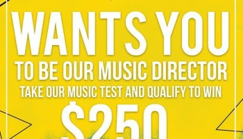 Be Our Music DIrector