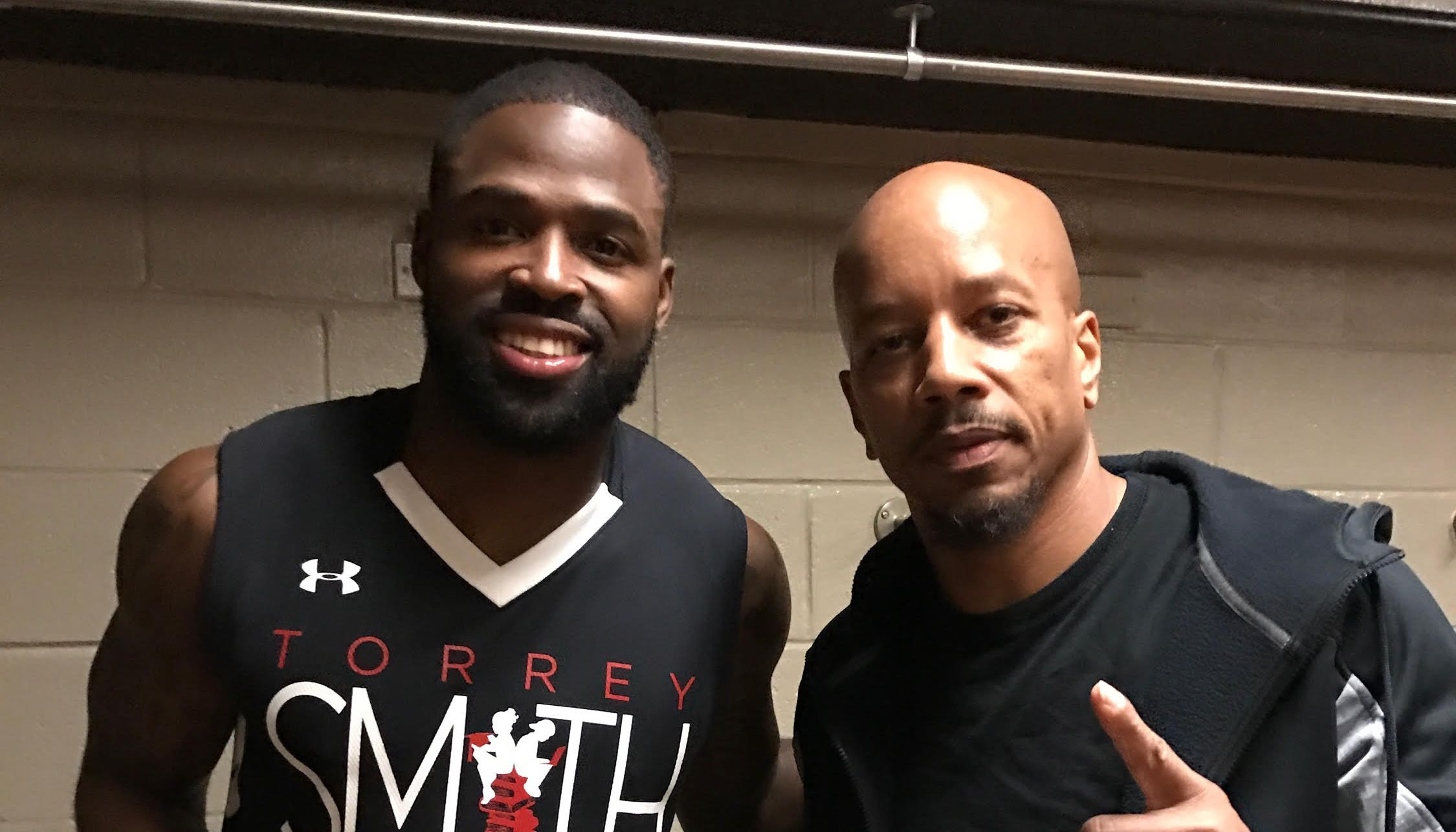Torrey Smith Charity Basketball Game 2017