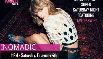 Direct TV NOW Super Saturday Night Featuring Taylor Swift