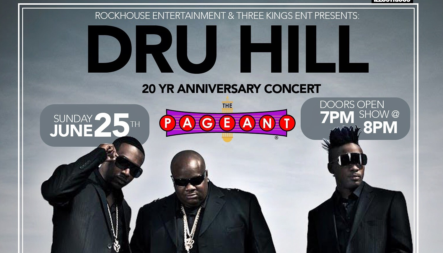 Dru Hill at the Pageant