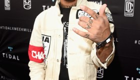 Vic Mensa attends Tidal X: MEEK MILL at Mondrian Hotel on June 26, 2015