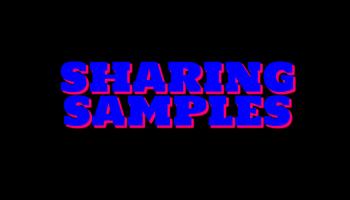 Sinamin's Sharing Samples