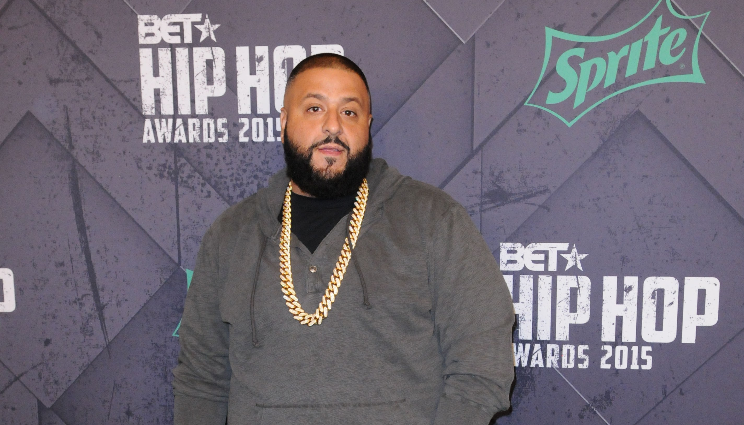 DJ Khaled at the 2015 BET Hip-Hop Awards