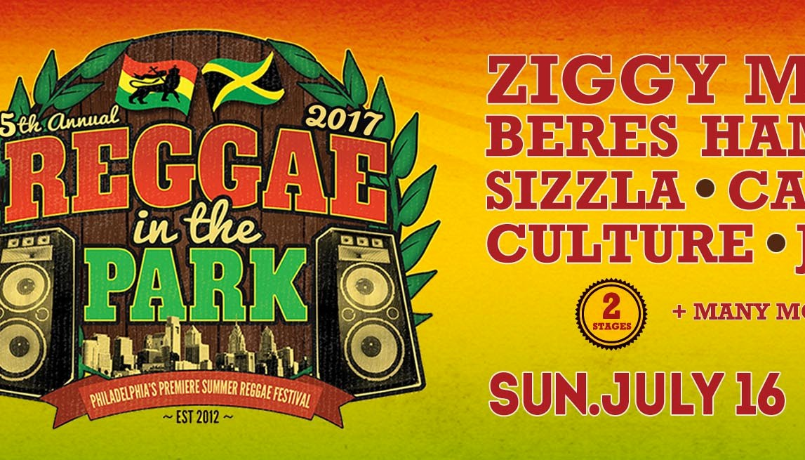 Reggae in the park 2017