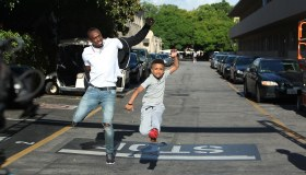 Jamaican Kid Train Challenge Usain Bolt To A Race