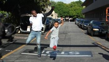 Jamaican Kid Train Challenge Usain Bolt To A Race