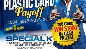 Plastic Card Payoff At Gold Rush! - Goldrush Showbar Client Provided