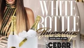 White Bottle Thursdays Only At Icebar ATL - Client Provided Icebar