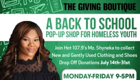 Back to School Supporting Homeless Youth with Mz. Shyneka