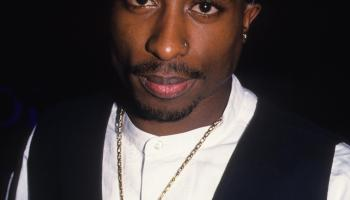 Portrait of Tupac Shakur