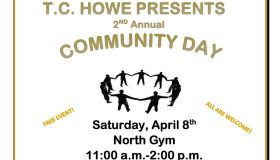 T.C. Howe Community Day Flyer