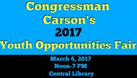 Congressman Carson's Youth Opportunities Fair