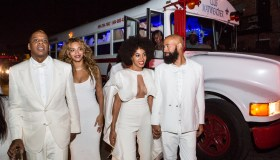 Solange Knowles Marries Alan Ferguson - Second Line And After Party