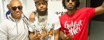 Tre Da Kid & Kevin Liles With Shorty Da Prince