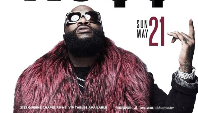 "93.9 WKYS PRESENTS RICK ROSS ""MASTERMIND"" TOUR LIVE @ ECHOSTAGE"