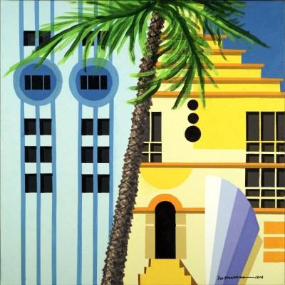 """<span>Art Deco Miami<br/>No. 3  </span> <span class=""""reddot""""></span>"""